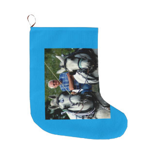 Culpeper, Virginia Draft Horse and Mule Show Large Christmas Stocking