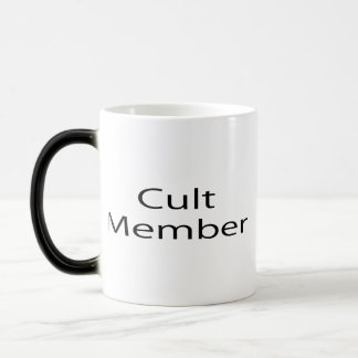 Cult Member 11 Oz Magic Heat Color-Changing Coffee Mug