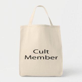 Cult Member Canvas Bags