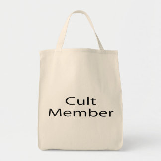 Cult Member Grocery Tote Bag