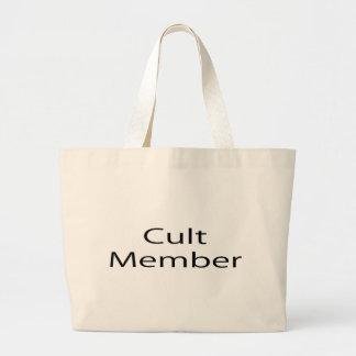 Cult Member Jumbo Tote Bag
