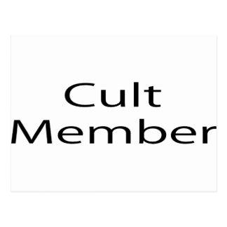 Cult Member Postcards