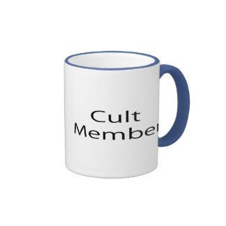 Cult Member Ringer Coffee Mug