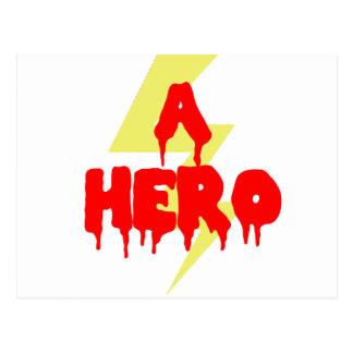 Cult Movie Hero Postcard