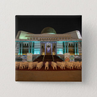Cult of Personality: Cool Geek Vintage Photo 2 Inch Square Button