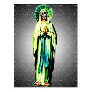 Cult Of Santa Muerte Postcard