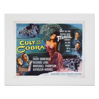 Cult of the Cobra (rare) Poster