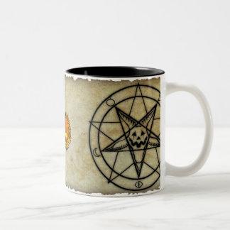 Cult of the Great Pumpkin Pentagram Mug