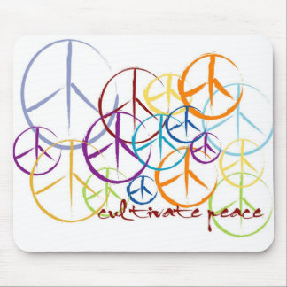 Cultivate Peace Mouse Pad