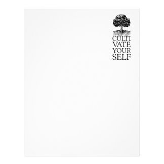 Cultivate Yourself Sationery Letterhead