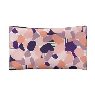 Cultural bag in the Terrazzo Design purple, orange