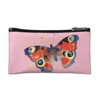 cultural bag with handpainted butterfly