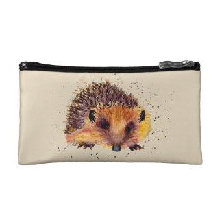 Cultural bag with handpainted hedgehog