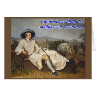 Culturati Palindrome Card