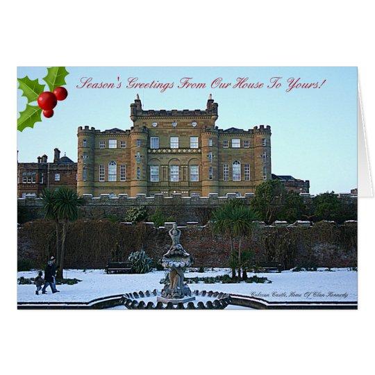 Culzean Castle -- Clan Kennedy Christmas Card