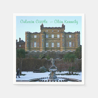 Culzean Castle  – Clan Kennedy Paper Napkin