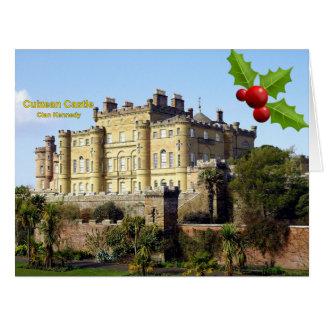 Culzean Castle, Home Of Clan Kennedy Christmas Card