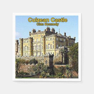 Culzean Castle, Home Of Clan Kennedy Paper Napkin
