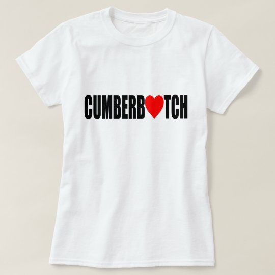 """CUMBERBATCH LOVER"" T-Shirt"
