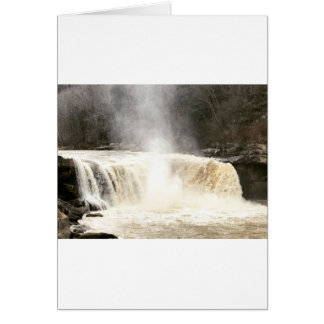 Cumberland Falls Big South Fork Kentucky Card