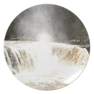 Cumberland Falls Big South Fork Kentucky Plate