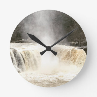 Cumberland Falls Big South Fork Kentucky Round Clock