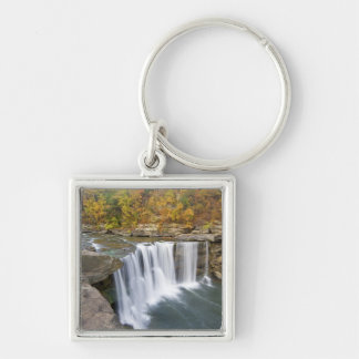 Cumberland Falls State Park near Corbin Kentucky Silver-Colored Square Keychain