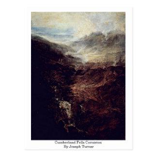 Cumberland Fells Corniston By Joseph Turner Postcard