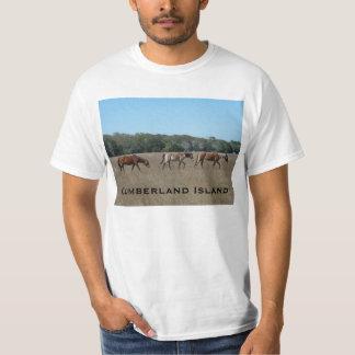 Cumberland Island Wild Horses T-Shirt Shirt GA