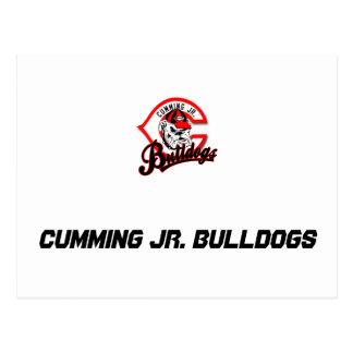 Cumming Jr. Bulldogs Postcard