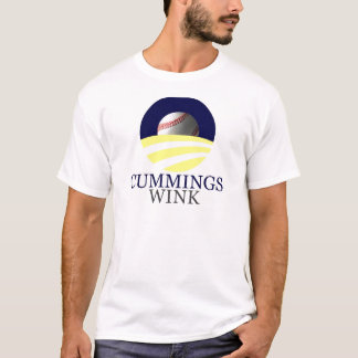 """Cummings - Wink, """"Change We Can Be... - Customized T-Shirt"""