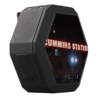Cummins Station Black Bluetooth Speaker