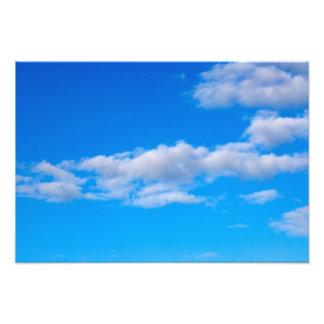 cumulus clouds over the western Antarctic Photo Art
