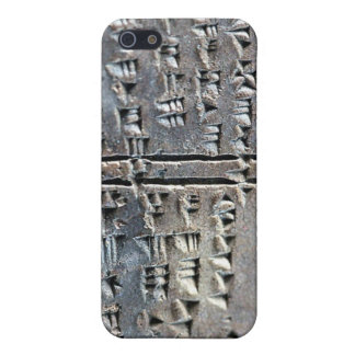 cuneiform iPhone 5/5S covers