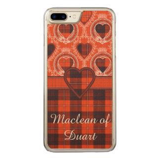 Cunningham clan Plaid Scottish tartan Carved iPhone 8 Plus/7 Plus Case