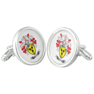 Cunningham Family Crest Coat of Arms Cufflinks