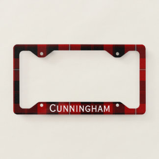 Cunningham Plaid License Plate Frame