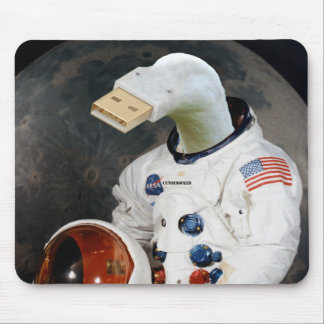 Cunningulen the Astronaut Mouse Pad
