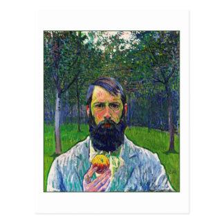 Cuno Amiet (Self-Portrait) Postcard