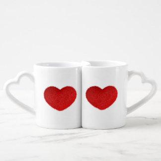 Cuore Rosso. Coffee Mug Set