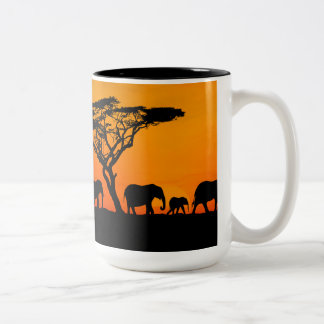 Cup African savannah. Cup African savannah