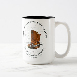 Cup, Almosta Farm Ride Fall 2012 Two-Tone Coffee Mug
