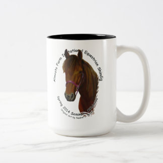 Cup, Almosta Farm Ride Spring 2014 Two-Tone Coffee Mug