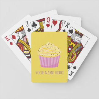 Cup Cake and Hearts Playing Cards