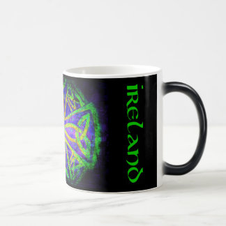 Cup, Celtic knot, Ireland, multicolored Magic Mug