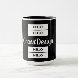 Cup CrossDesign Hello!