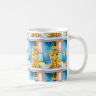 Cup Graceful Cat