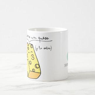 "Cup ""I am like a cheese "" Classic White Coffee Mug"
