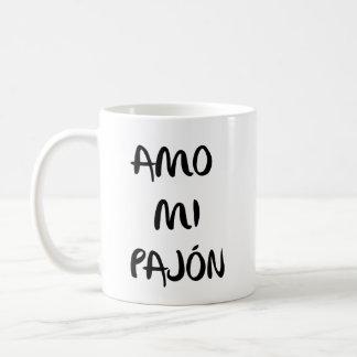 "Cup ""I love my pajón """