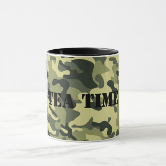 Cup in camouflage.